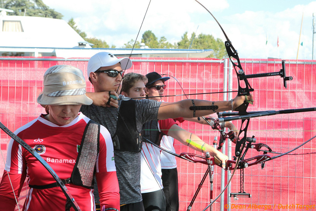Lausanne 2014 finals practice field. Photo; Dean Alberga / Dutch Target.