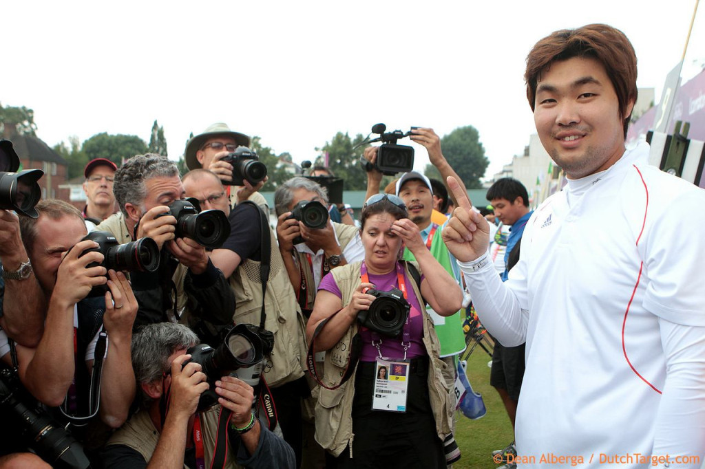 Im Dong-Hyun at London 2012. Photo: Dean Alberga / Dutch Target