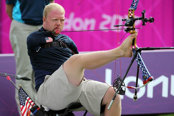 Matt Stutzman at the Paralympics: London 2012