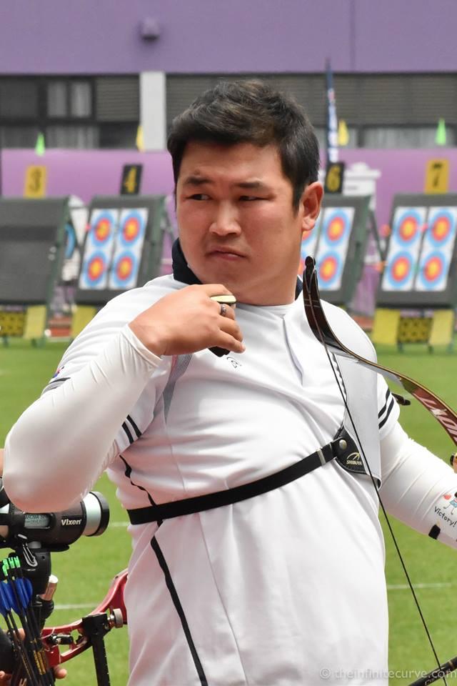 Oh Jin-Hyek at #WCShanghai 2015