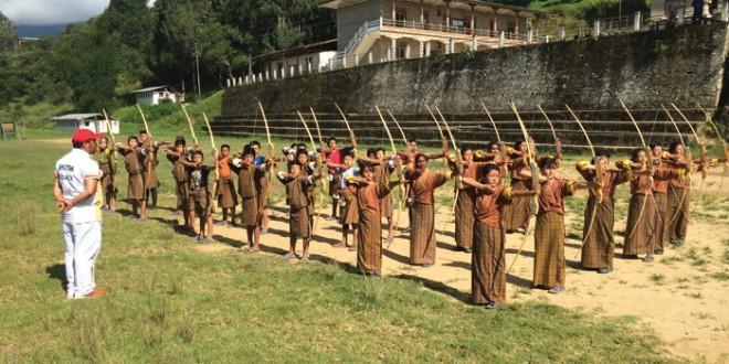 """Résultat de recherche d'images pour """"bhoutan tir a l'arc équipe"""""""